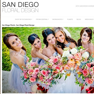 San Diego Floral Design wedding vendor preview