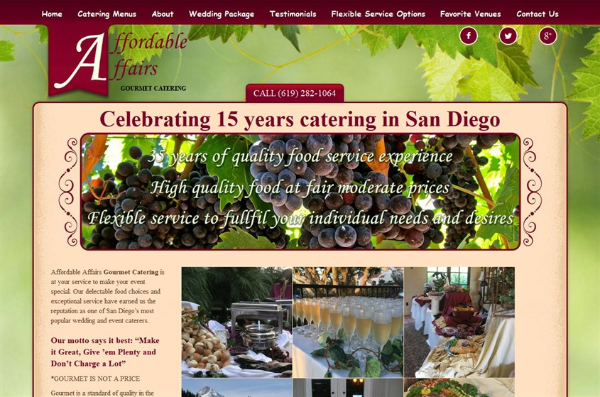 Affordable Affairs Catering wedding vendor photo