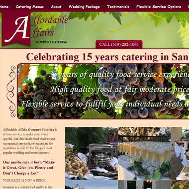 Affordable Affairs Catering wedding vendor preview