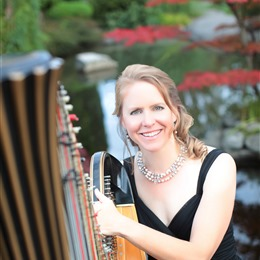 The Solo Harp of Susan W. Haas photo