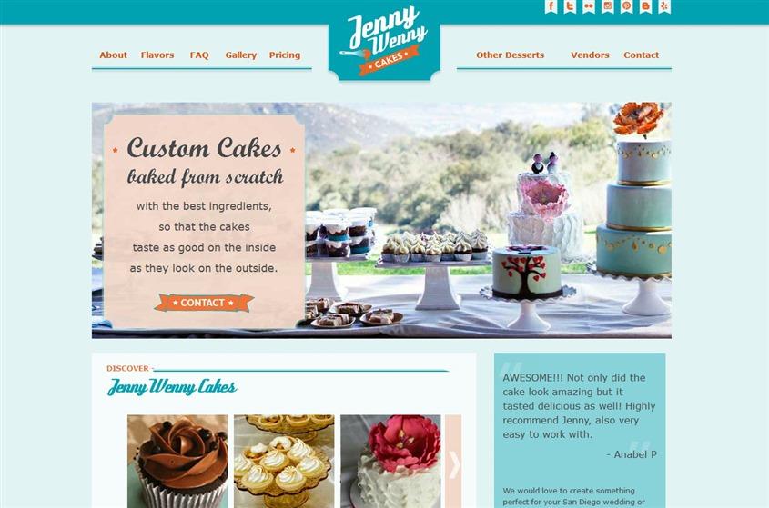 Jenny Wenny Cakes wedding vendor photo