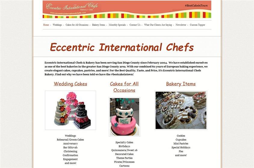 Eccentric International Chefs wedding vendor photo