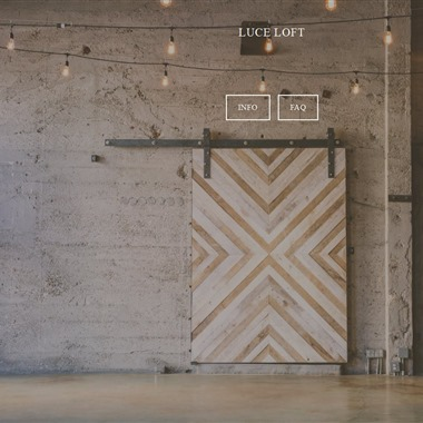 Luce Loft wedding vendor preview