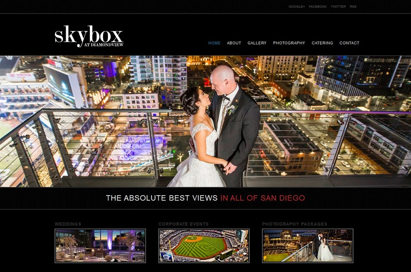 The Skybox wedding vendor photo