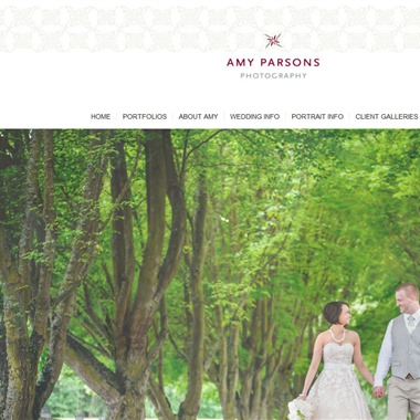 Amy Parsons Photography wedding vendor preview
