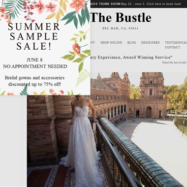 The Bustle wedding vendor preview