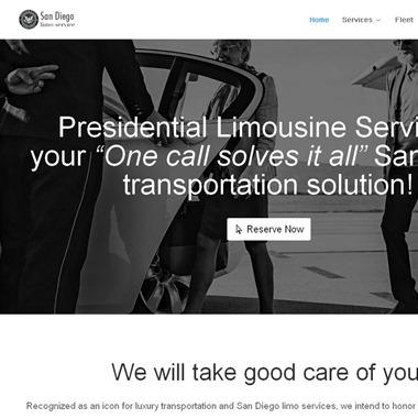 Presidential Limousine Service wedding vendor preview