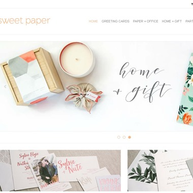 Sweet Paper wedding vendor preview