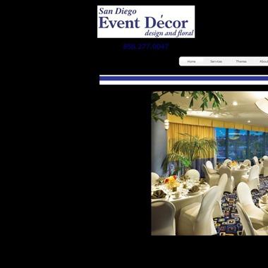 San Diego Event Decor wedding vendor preview