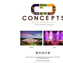 Concepts Event Design Inc photo
