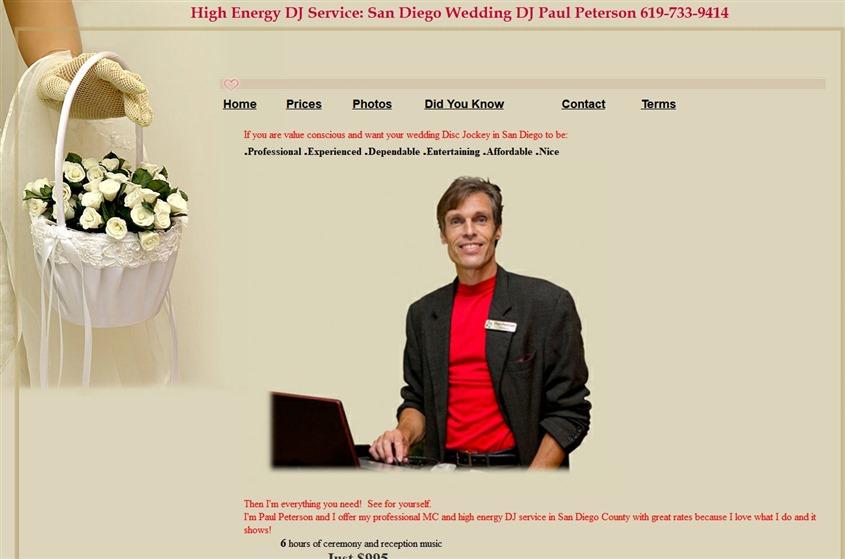 High Energy DJ Services wedding vendor photo