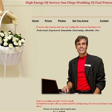 High Energy DJ Services wedding vendor preview