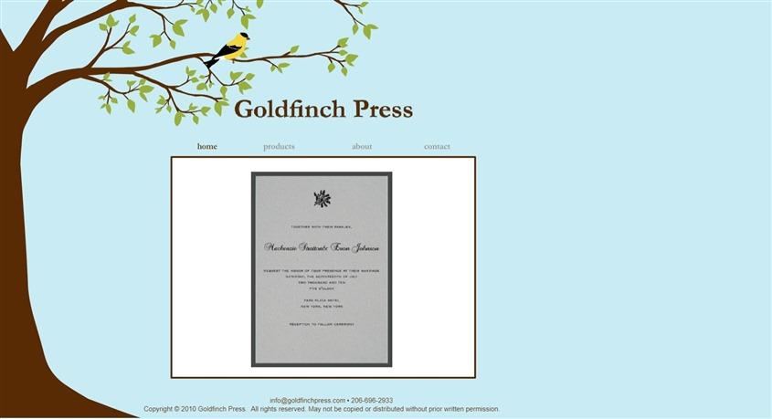 Goldfinch Press wedding vendor photo