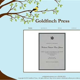 Goldfinch Press photo