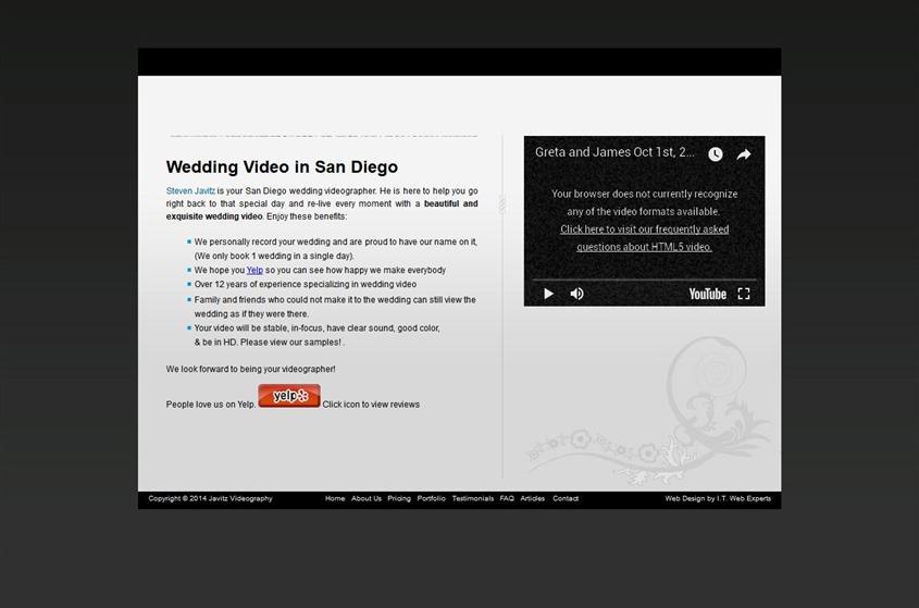 Javitz Video wedding vendor photo