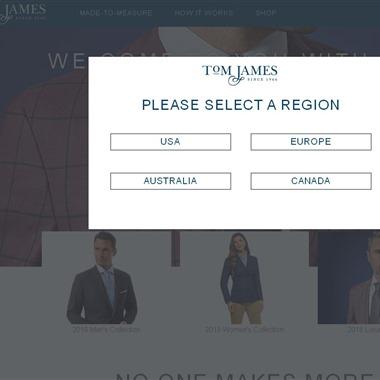 Tom James Company wedding vendor preview