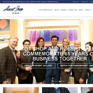 The Ascot Shop wedding vendor preview