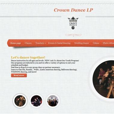 Crown Dance Studio wedding vendor preview