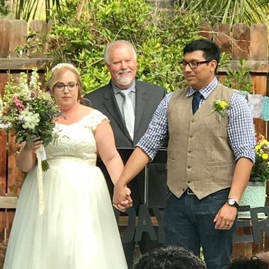 Rev. Jeffery Huss - Wedding Officiant  wedding vendor preview