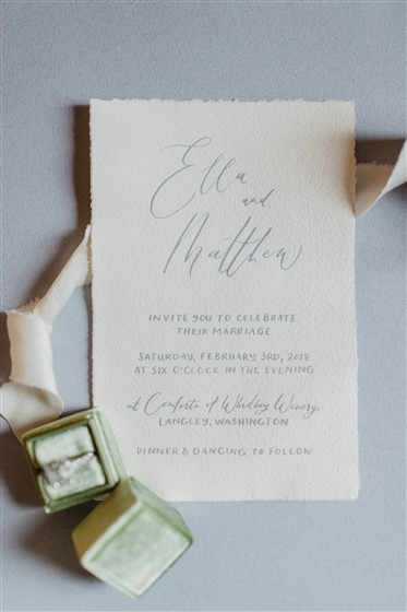Sablewood Paper Company wedding vendor photo