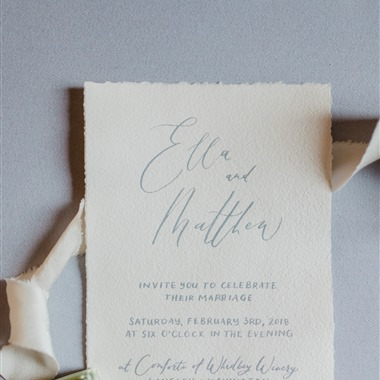 Sablewood Paper Company wedding vendor preview