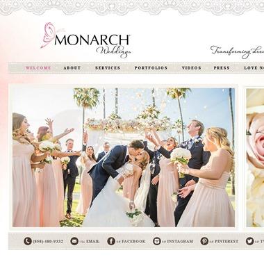 Monarch Weddings wedding vendor preview