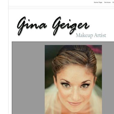 Gina Geiger Makeup Artist wedding vendor preview