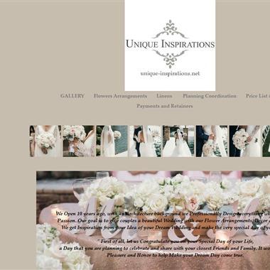 Unique Inspirations wedding vendor preview