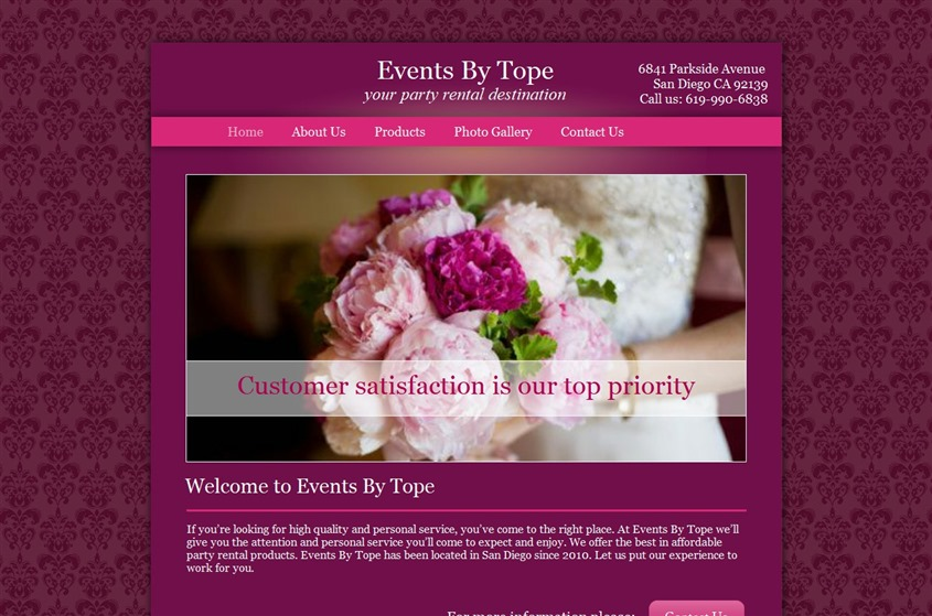 Events By Tope wedding vendor photo