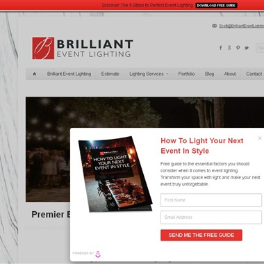 Brilliant Event Lighting wedding vendor preview