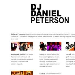 DJ Daniel Peterson photo