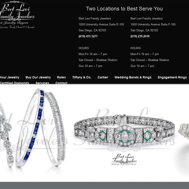 Bert Levi Family Jewelers wedding vendor preview