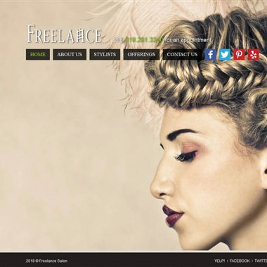 Freelance Hair and Make Up Salon wedding vendor preview