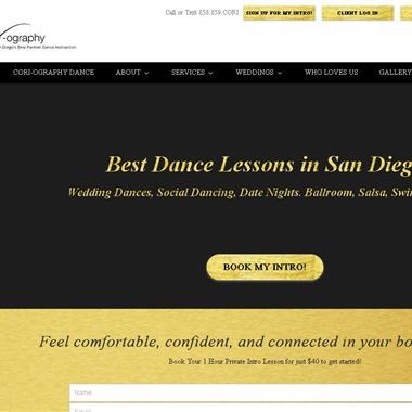Cori-ography Dance wedding vendor preview