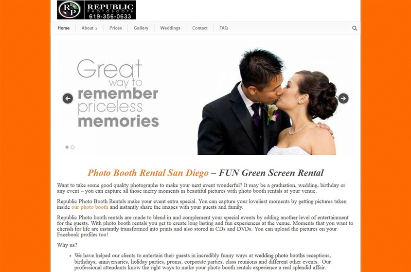 Republic Photobooth wedding vendor photo