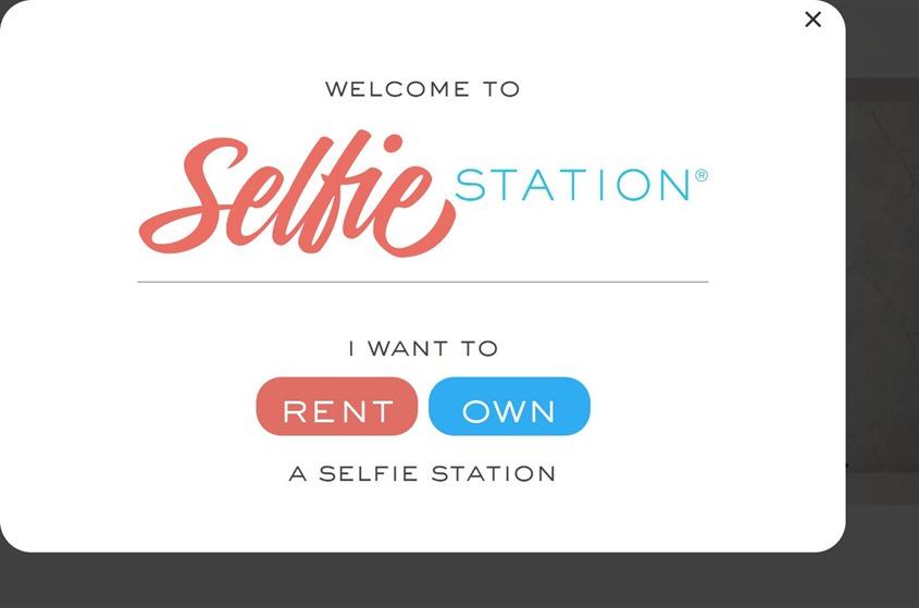 Selfie Station wedding vendor photo