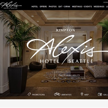 Kimpton Alexis Hotel wedding vendor preview