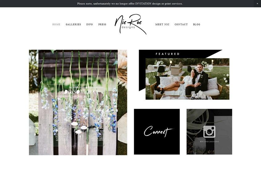 Nic Roc Design wedding vendor photo