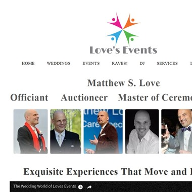 Love's Events wedding vendor preview