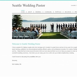 Seattle Wedding Pastor photo