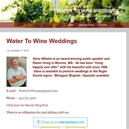 Water To Wine Weddings photo