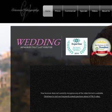 Crissman Video wedding vendor preview