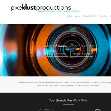 Pixel Dust Wedding wedding vendor preview