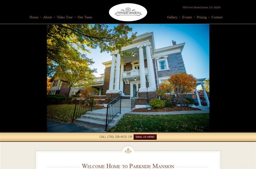 Parkside Mansion wedding vendor photo