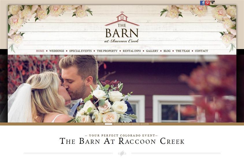 The Barn at Raccoon Creek wedding vendor photo