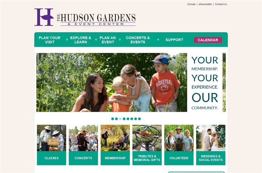 Hudson Gardens wedding vendor photo