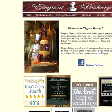 Elegant Bakery wedding vendor preview