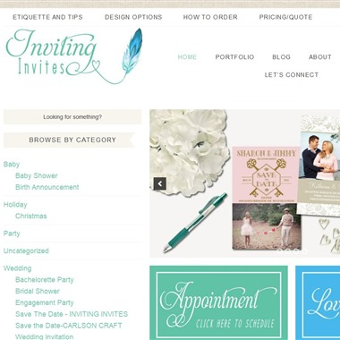 Inviting Invites wedding vendor preview