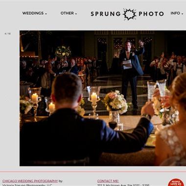 Sprung Photo wedding vendor preview