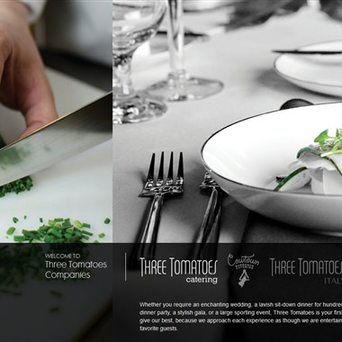 Three Tomatoes Catering wedding vendor preview